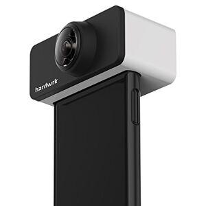 hardwrk PanoClip Objectif pour l'iPhone 7/8 d'Apple Appareil Photo 360 degrés Images 360 degrés Accessoire Photo Objectif pour Appareil Photo - Publicité