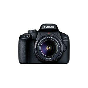 CAN Camara ON Reflex EOS 4000D + OBJETIVO EF-S 18-55 III - Publicité