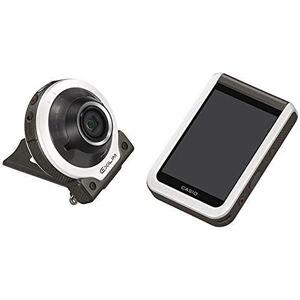 """Casio EXILIM EX-FR100 Appareil photo numérique 10,2 MP avec écran LCD 3,0"""" Version internationale (Blanc) - Publicité"""