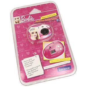LEXIBOOK Disney Mickey Mouse Club House DJ015bb Jeu lectronique Appareil Photo Numerique Barbie 300K Pixels - Publicité