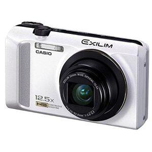 Casio Exilim EX-ZR200 Appareil photo numérique 16 Mpix Zoom optique 12,5x + Multi SR Zoom Full HD 1080p Blanc - Publicité