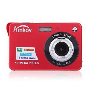 """Andoer HD caméra Numérique 18MP 2.7"""" TFT 8 x Zoom sourire capturer caméscope anti-tremblement - Publicité"""