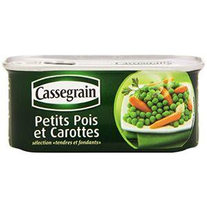 Cassegrain Petits Pois Carottes 130 g net Lot de 6 - Publicité
