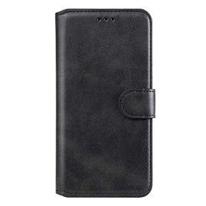 RFENGYUN Coque Samsung Galaxy A21S Housse Etui, tui en Cuir PU Kickstand téléphone Cas Etui pour téléphone TPU Cas Flip Phone Case.(Black) - Publicité