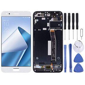 LLLKKK cran LCD de rechange et numériseur complet avec cadre pour Asus ZenFone 4 ZE554KL Z01KDA Z01KD Z01KS Noir Kit de remplacement + outil de réparation complet (couleur : blanc) - Publicité