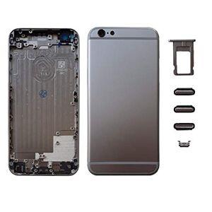 Smartex Chassis Arriere en Vitre + Coque + Tiroir SIM Compatible avec iPhone 6   Back Cover + Frame (Gris sidéral Sideral Grey) - Publicité