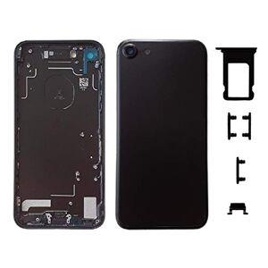 Smartex Chassis Arriere en Vitre + Coque + Tiroir SIM Compatible avec iPhone 7   Back Cover + Frame (Noir) - Publicité
