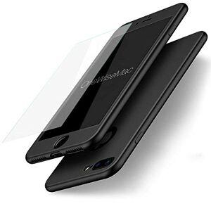 OWM Coque Iphone 6 Plus et 6s Plus 360 Black Ultra Silicone ultra fine et verre trempé - Publicité