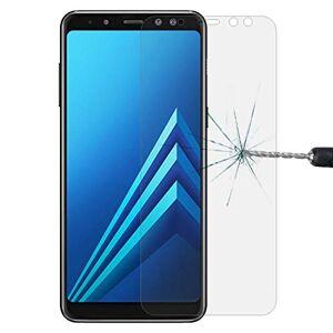 Zhangl Film de Verre trempé pour téléphone Portable for Samsung Galaxy A8 (2018) 0.26mm 9H Surface dureté 2.5D Courbe bordée Verre trempé Protecteur d'écran Film de Verre trempé (Couleur : Color1) - Publicité