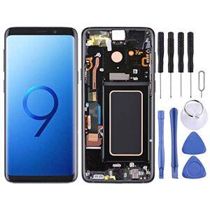 HFFDG Remplacer Super AMOLED Matériau de l'écran LCD et Digitizer Assemblée réunie avec Cadre for Galaxy S9 + / G965F / G965F / DS / G965U / G965W / G9650 (Noir) (Color : Black) - Publicité