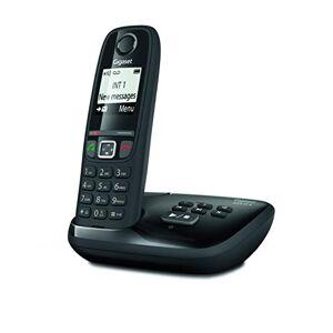 Siemens AS470A Solo Téléphone Fixe sans fil Répondeur 1 Combiné Noir - Publicité