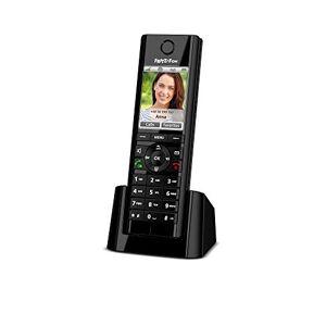 AVM Fritz!Fon C5 Téléphone sans Fil DECT avec écran Couleur, téléphonie HD, Envoi et réception démail, Flux RSS, podcasts, Radio par Internet, etc. conu pour Fritz!Box avec Base DECT - Publicité