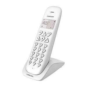 Logicom Telephone fixe sans fil Téléphone fixe sans fil sans Répondeur Solo Téléphones analogiques et dect  VEGA 150 Téléphone Fixe sans Fil Blanc - Publicité