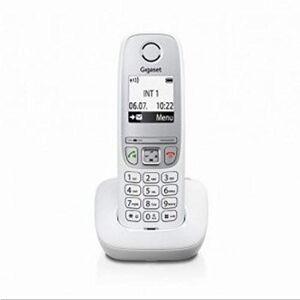 Siemens A415 Téléphone sans Fil sans Répondeur (Téléphone DECT avec Fonction Mains Libres, Affichage Graphique et Utilisation Facile), Blanc [Produit d'import Europe] - Publicité