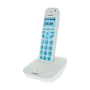 Logicom Confort 150 Téléphone Fixe Sans fil Blanc - Publicité
