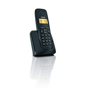 Siemens S30852-H2401-D201 A120 Téléphone sans fil Noir (Produit d'import Europe) - Publicité
