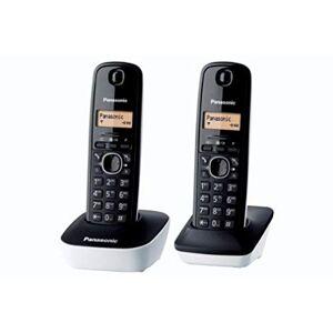 Panasonic KX-TG1612FRW Téléphone Duo sans fil DECT sans répondeur Blanc [Version Franaise] - Publicité