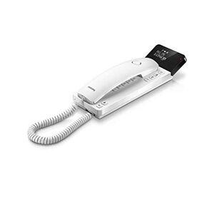 Philips M110W / 23 Téléphone Design échelle (Investi LCD, 25 signets, LED Attention, 2.75  Appel ID, Haut-Parleur, indépendamment du Calendrier Actuel, Mur ou de l'utilisation de Table) Blanc - Publicité