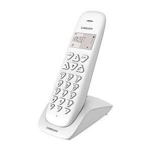 Logicom Telephone fixe sans fil Téléphone fixe sans fil avec Répondeur Solo Téléphones analogiques et dect  VEGA 155T Téléphone Fixe sans Fil avec Répondeur Blanc - Publicité