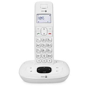 Doro Comfort 1015 Single Téléphone sans Fil DECT pour Seniors avec Répondeur et Fonction Mains-Libres (Blanc) [Version Franaise] - Publicité