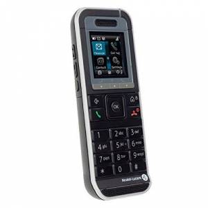 Alcatel 8232 DECT Téléphone numérique sans fil DECTGAP noir - Publicité
