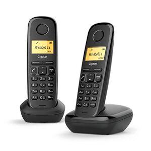 Siemens A170 Duo Téléphone fixe sans fil DECT/GAP Noir - Publicité