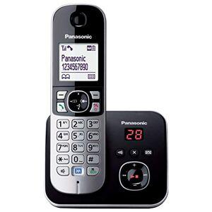 Panasonic KX-TG6821 DECT Identification de l'appelant Noir, Blanc téléphones (Téléphone DECT, Combiné sans fil, Haut-parleur, 120 entrées, Identification de l'appelant, Noir, Blanc) - Publicité