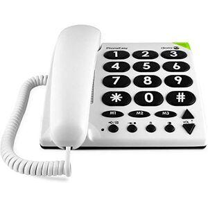 Doro BIG Button Telephone White 311C - Publicité