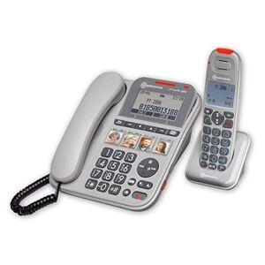 Amplicomms PowerTel 2880 Combo Téléphone filaire et sans fil amplifié - Publicité