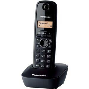 Panasonic KX-TG1611FRH Téléphone solo sans fil DECT sans répondeur Noir [Version Franaise] - Publicité