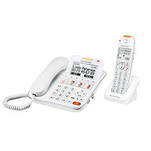 Alcatel Atlinks XL 650 Combo Répondeur Téléphone filaire Blanc - Publicité