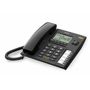 Alcatel Telefono Sobremesa Con Cable. Pantalla 3 Lineas. Manos Libres. 8 Memorias Directas. Cli Tipo Ii. No Necesita Alimentacion. Tecla - Publicité