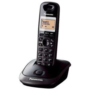 Panasonic KX-TG2511JTT téléphone téléphones (Téléphone DECT, 50 entrées, Identification de l'appelant, Titane) [Version Italienne] - Publicité