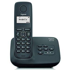 Siemens TELFONO DECT  AL117A AGENDA 50 REGISTROS INDENTIFICACION LLAMADAS MANOS LIBRES CONTESTADOR 25 MINUTOS - Publicité
