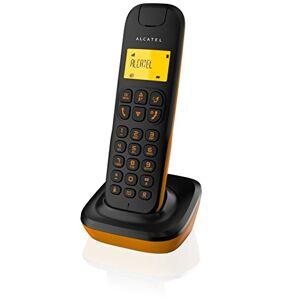 Alcatel D135DECT Identifiant d'appel Noir, Orange - Publicité