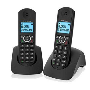 Alcatel F380-S Téléphone sans Fil Dect 50 entrées Alarme Argent - Publicité