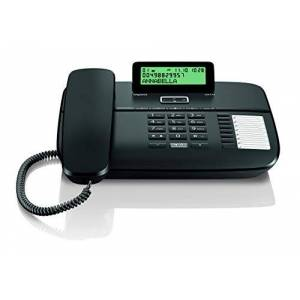 Siemens DA710 Téléphone sans fil Noir (Import Espagne) - Publicité