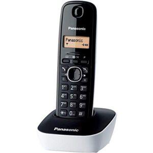 Panasonic KX-TG1611FRW Téléphone solo sans fil DECT sans répondeur Blanc [Version Française] - Publicité