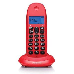 Motorola Telefono Inalambrico DECT  C1001 Rojo Cereza - Publicité