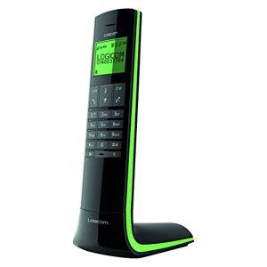 Logicom Luxia 150 Téléphone Sans fil Noir et Vert - Publicité