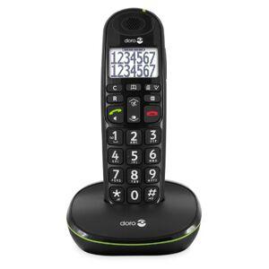 Doro PhoneEasy 110 Téléphone sans Fil DECT pour Seniors avec Touches Grandes Parlantes et Audio Amplifié (Noir X 1) [Version Franaise] - Publicité