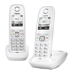 Siemens AS405 Duo Téléphone sans Fil DECT/GAP Blanc - Publicité