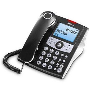 SPC Telecom 3804NTéléphones Noir - Publicité