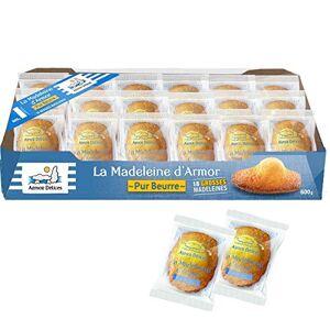 Armor Delices LaMadeleine D'Armor 18 pices Beurre doux frais pour gteau franais Pour petit déjeuner et thé - Publicité