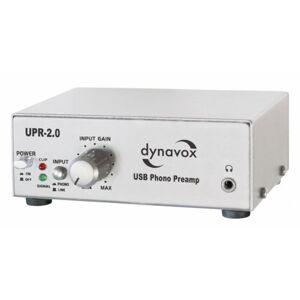 Dynavox UPR-2.0 USB Préamplificateur phono Argent (Import Allemagne) - Publicité