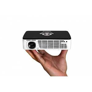"AAXA Technologies P300 Pico vidéo-projecteur 300 ANSI lumens DLP WXGA (1280x800) Noir, Blanc Vidéo-projecteurs (300 ANSI lumens, DLP, WXGA (1280x800), 2000:1, 16:9, 254 3048 mm (10 120"")) - Publicité"