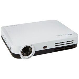FOXCESD Full HD 3D DLP projecteur,  H9 Mini WXGA 1080P Vidéo Vidéoprojecteur Portable Wifi / WIFI Home Cinéma Android 4.4, Bluetooth 4.0, HDMI, USB, Multi-Screen-Sharing (1280*800, 2000:1) - Publicité