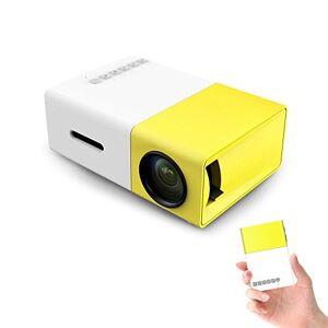Leaning Tech LeaningTech YG 300Mini vidéoprojecteur 1080p LCD/LED/3D/Home cinéma, USB/SD pour projeter des films ou jouer - Publicité