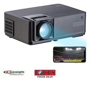 Scenelights Vidéoprojecteur LCD avec wifi et lecteur multimédia LB-9400.wifi [] - Publicité
