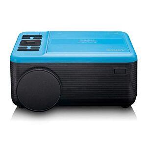 Lenco LPJ500 Vidéoprojecteur avec lecteur DVD Retroprojecteur portable Full HD Compatible Smartphone Bleutooth / USB / HDMI 2X / SD / AV / VGA 2800 Lumen Durée de vie de 30 000 heures Blanc - Publicité